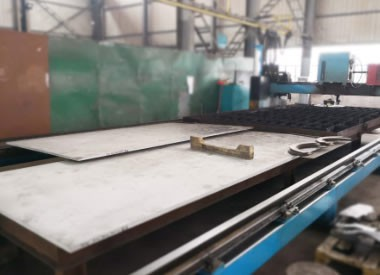 NC plasma cutting machine